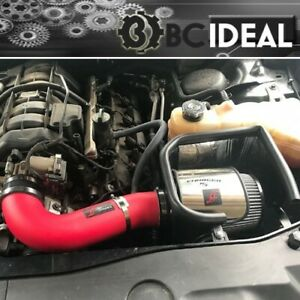 FIT 11-18 CHRYSLER 300C CHALLENGER CHARGER 5.7L V8 RT AF DYNAMIC RED AIR INTAKE