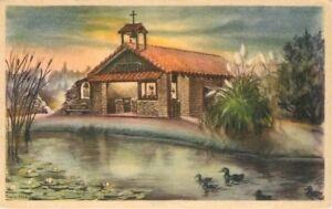 Amusement BUENA PARK CALIFORNIA Little Chapel by Lake Knott's Berry Farm 3794
