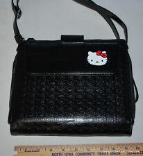 HELLO KITTY iPAD/CROSSBODY Detachable Strap Black CASE
