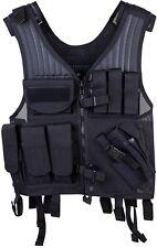 New! Blackhawk Omega Elite Vest Cross Draw/Pistol Mag Black Right Hand 30EV26BK