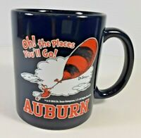 "Auburn University and Dr Seuss ""OH, THE PLACES YOU'LL GO"", Coffee Cup Mug"