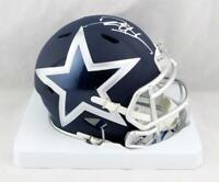 Deion Sanders Signed Dallas Cowboys AMP Speed Mini Helmet- Beckett Auth *White