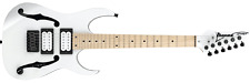 Ibanez PGMM31-WH Paul Gilbert Mikro Electric Guitar (White)