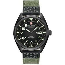 Hanowa Swiss Military SM34521AEU/H01 Gents Squadron II Green Strap Watch RRP£275