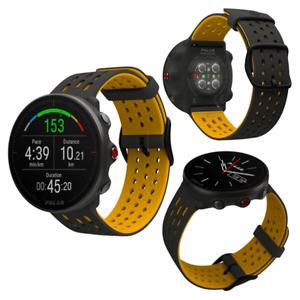 Polar Vantage M2 Gray Yellow Smart GPS Running Swimming Cycling Sports Watch