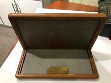 Lot of 9 Franklin Danbury mint Wood Display Case diecast 1:24