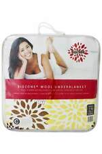 Crestell Biozone wool underblanket reversible QUEEN Bed Size RRP $269