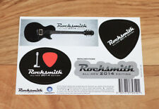 Rocksmith All New 2014 Edition Rare Promo Sticker Set Xbox One PS4 Ubisoft 2013