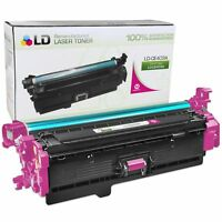 LD Remanufactured Replacement for HP CE403A / 507A Magenta Toner Cartridge