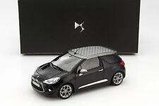 Citroen DS3 Cabriolet Baujahr 2012 schwarz / grau 1:18 Norev