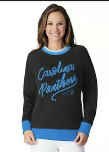 NFL Carolina Panthers Officially Licensed Women's XL Hail Mary Sweatshirt G-III