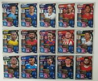 2019/20 Match Attax UEFA Soccer Cards - Man of the Match Set of 15 cards