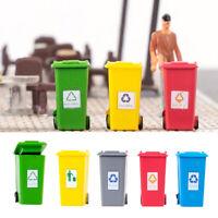 5 pièces 5 couleurs en plastique enfants camion poubelle poubelle jouet crayon