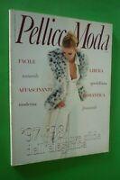 PELLICCE Moda ITALIA Rivista n.1 gennaio-febbraio 1997 RARA! no Vogue NUOVE SFID