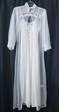 Vintage Ilise Stevens White Peignoir Set Petite XS