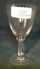 "FOSTORIA crystal CIRCLET stem #6055-1/2 cut #840 WATER Goblet Stem 6-1/8"""
