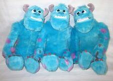 """MONSTERS UNIVERSITY MY SCARE PAL SULLY LOT SET OF 3 SOFT 12"""" CARTOON PLAY TOYS"""