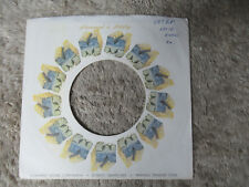 sleeve only MONUMENT WHITE  45 record company sleeve only    45