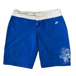 Vintage Team NIKE UNC Tar Heels Distressed Nike Basketball Shorts Boy's M 8-10