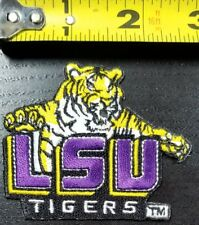 """LSU Tigers NCAA 2.75""""x2.5"""" Iron/Sew on Patch~FREE SHIPPING FROM THE USA~"""
