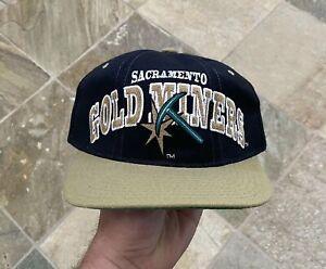 Vintage Sacramento Gold Miners CFL Starter Snapback Football Hat