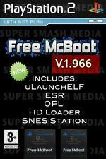 Free Mcboot FMCB 1.966 Sony Playstation 2