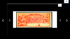 SALE FREE SHIPNational Bank of Merit Four Shares of Stock circa 1880 Remainder