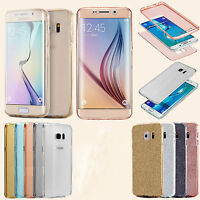 Fit For Samsung Galaxy S6 S7 J3 S6 Shockproof Hybrid Sparkly Glitter Case Cover