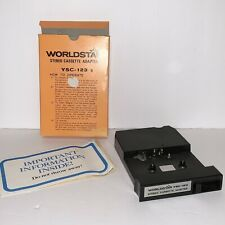 Vintage Worldstar Ysc-123 Stereo Cassette Adapter for 8 track players