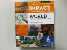 Impact Social Studies Grade 10 Te World History Culture Geography Modern 10th