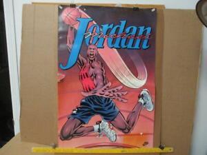 1991 Michael Jordan Poster Superman Basketball Poster