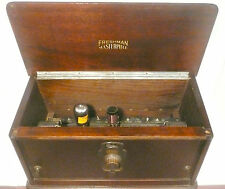 vIntage * FRESHMAN MASTERPIECE BATTERY / TUBE RADIO: Untested w/ 1 TUBE