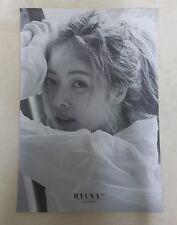 K-POP HYUNA 6th Mini Album - [Following] OFFICIAL POSTER -NEW-