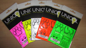 New Unicol Reflective stickers School Bags Hi Viz Safety High Visibility 5 Pack