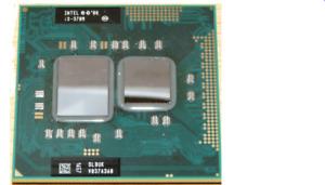 Intel Core i3-370M 2.40GHz Cache  Socket G1 Laptop Processor CPU SLBUK