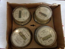 Watthour Meter Type Alf Form Y72577-321E (LOT OF 4)  - FOR PARTS OR REPAIR