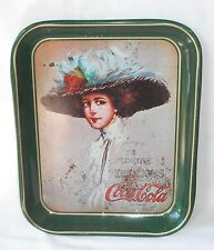 Vintage 70s reproduction COKE COCA COLA metal serving tray Hamilton King