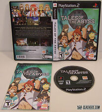 Tales of the Abyss (Sony PlayStation 2)  - COMPLETE