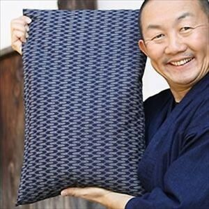 Bamboo Charcoal Pillow Made in Japan H/16xW/20 in Pleasant Sleep Deodorization