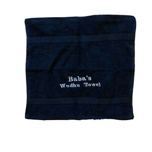 Ideal gift  Wudhu Towel Face Cloth Towel Flannel Personalised Embroidery
