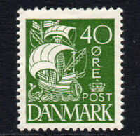 Denmark 40 Ore c1927 Mounted Mint Stamp (2440)
