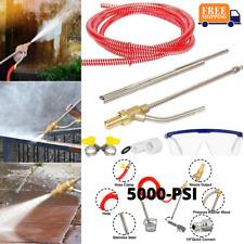 Power Water Pressure Washer Sandblaster Kit Accessories Dustless Wet Attachment