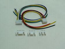 2 pcs / 5 pcs JST-XH 2.54mm Base M ou F avec fils 2S1P 3S1P 4S1P 3, 4 ou 5 pins