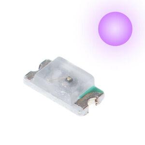 0603 SMD SMT LED Bulb Purple UV Ultra Bright Light Emitting Diode