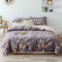 Single/Double/Queen/King Bed Plum Blossom  Duvet/Doona/Quilt Cover Set Cotton