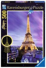 Ravensburger Puzzle Funkelnder Eiffelturm 500 Teile Paris nachtleuchtend # 14898