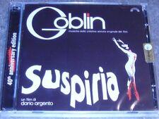 GOBLIN Suspiria CD+DVD 2017 40th Anniversary Edition OST Dario Argento Simonetti