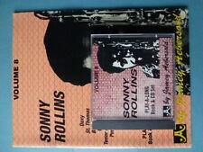 Jamey Aebersold - Vol. 8  Sonny Rollins - Book / CD Set - St. Thomas Airegin etc