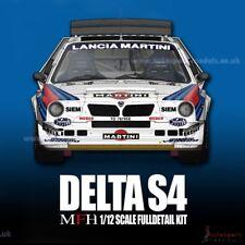 1/12 1986 LANCIA DELTA S4 WRC RD 1 #7 Toivonen/Cresto full détail Modèle Kit MFH