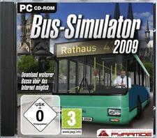 Bus simulator 2009 (pc) - NEUF & immédiatement